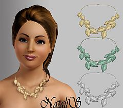 Sims 3 necklace, jewelry, accessories, female, fashion
