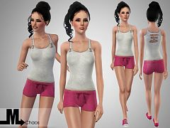 Sims 3 outfit, cloth, clothes, fashion