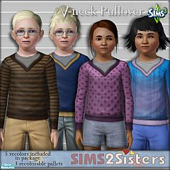 Sims 3 pullover, child, everyday, clothing