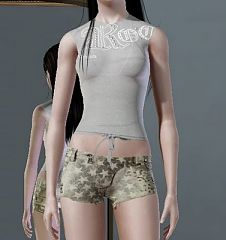 Sims 3 short, pants, bottom, cloth, clothes, fashion