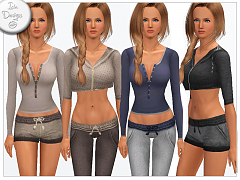 Sims 3 athletic, fashion, clothing, female