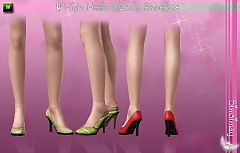 Sims 3 heels, shoes, pumps, classic