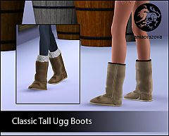 Sims 3 ugg, boots, shoes