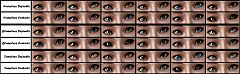 Sims 3 eyes, genetics, female, contacts