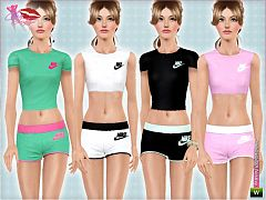 Sims 3 sport, athletic, fashion, clothing, female
