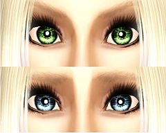 Sims 3 eyes, replacements, genetics