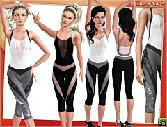 Sims 3 outfit, fashion, athletic, clothing, male
