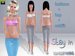 Sims 3 clothing, fashion, female