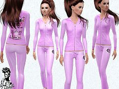 Sims 3 hoodie, clothing, fashion, female