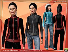 Sims 3 sport, jacket, casual, athletic