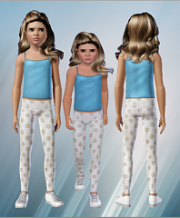 Sims 3 leggings, cloth, fashion