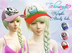 Sims 3 hats, fashion, female