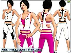 Sims 3 sport, cloth, athletic, set