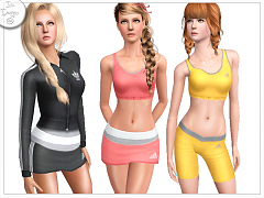Sims 3 sport, athletic, clothing, fashion, outfit, teen