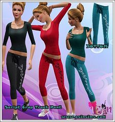 Sims 3 pant, sport, athletic, bottom