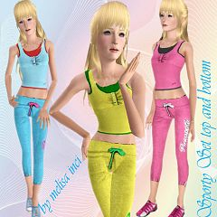 Sims 3 athletic, fashion, clothing, outfit