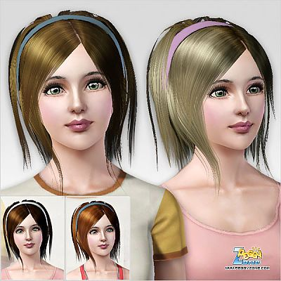 Sims 3 hair, female
