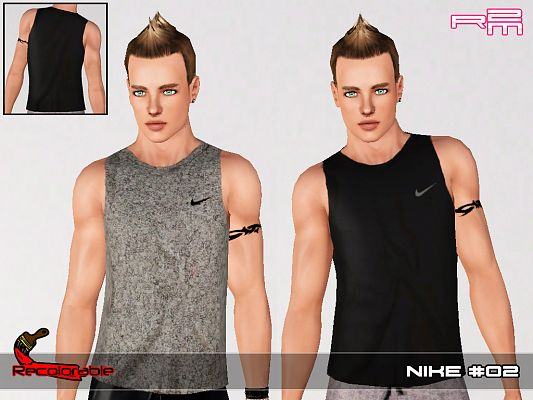 Sims 3 top, cloth, fashion, male