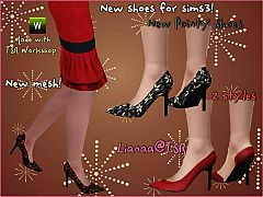 Sims 3 heels, shoes, pumps