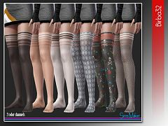 Sims 3 stockings, accessories