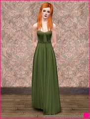 Sims 3 dress, casual, fashion, chiffon, formal