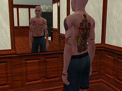 Sims 3 tatoo, tatoos