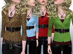 Sims 3 outfit, fashion, clothing, female