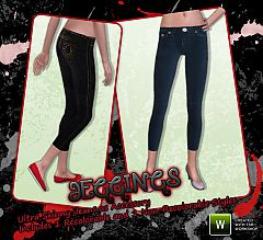 Sims 3 skinny, jeans, clothing