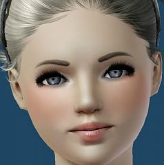 Sims 3 eyes, eyeliner, makeup, mascara