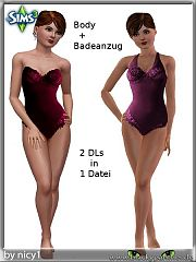 Sims 3 body, lingerie, cloth, fashion