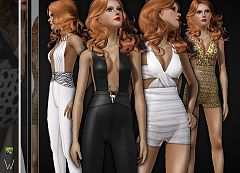 Sims 3 jumpsuit, fashion, outfit, female