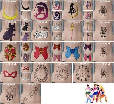 Sims 3 tattoo, tattoos, accessories