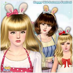 Sims 3 headwear, accessories, female