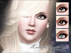 Sims 3 eyes, contact lenses, makeup, costume makeup