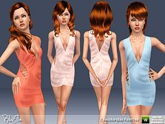 Sims 3 dress, fashion, clothing, teen