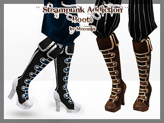 Sims 3 shoes, boots, female