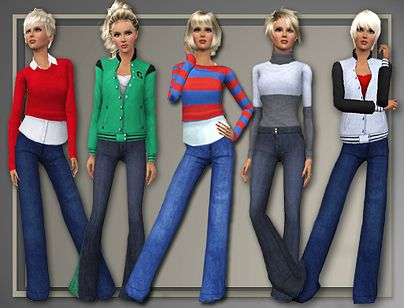 Sims 3 top, cloth, clothing, fashion, blouse, jacket, sweater