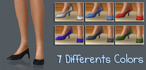 Sims 3 shoes, heels, footwear