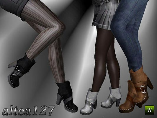 Sims 3 shoes, boots, heels