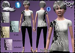 Sims 3 elder, clothing, fashion, outfit