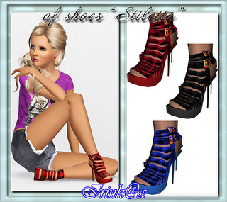 Sims 3 shoes, sandals, footwear