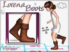 Sims 3 shoes, boots, child