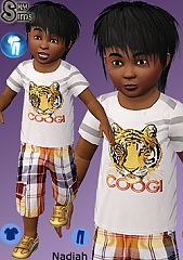 Sims 3 toddler, clothing, fashion, outfit, boy