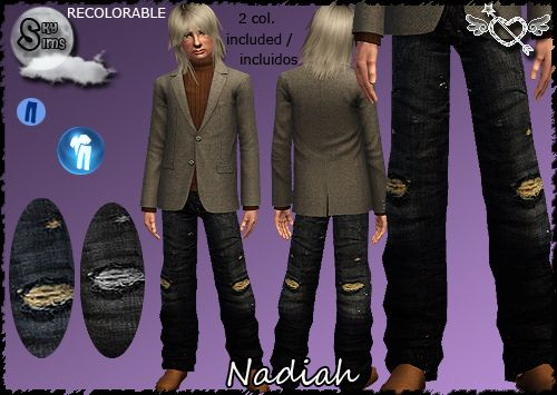 Sims 3 men, clothing, fashion, outfit