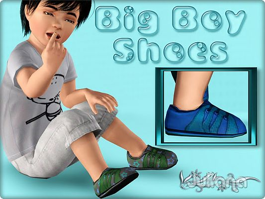 Sims 3 shoes, toddler, footwear