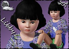 Sims 3 female, model, sims, toddler
