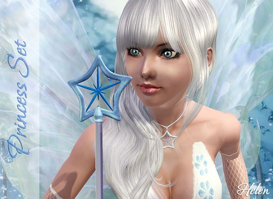 Sims 3 jewelry, accessories, necklace, wand