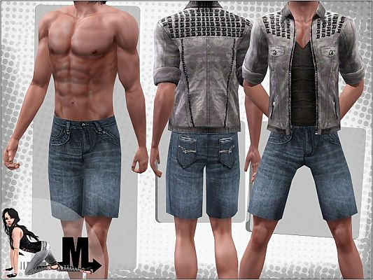 Sims 3 clothing, outfit, male