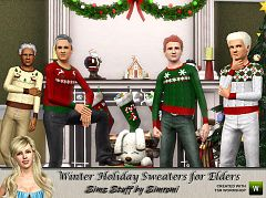Sims 3 sweater, top, clothing, male