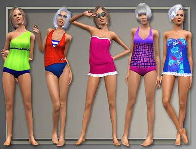 Sims 3 swim,swimwear, swimsuit, sims3